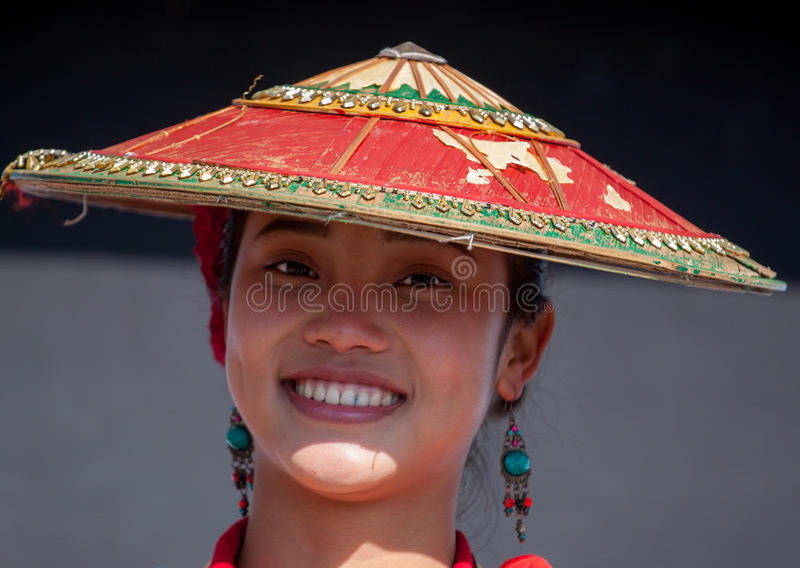 Femme de Dai photo libre de droits