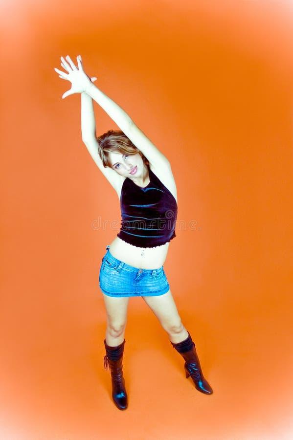 Femme de danse image libre de droits