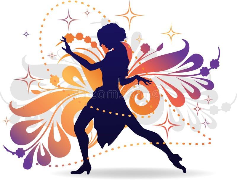 Femme de danseur illustration libre de droits