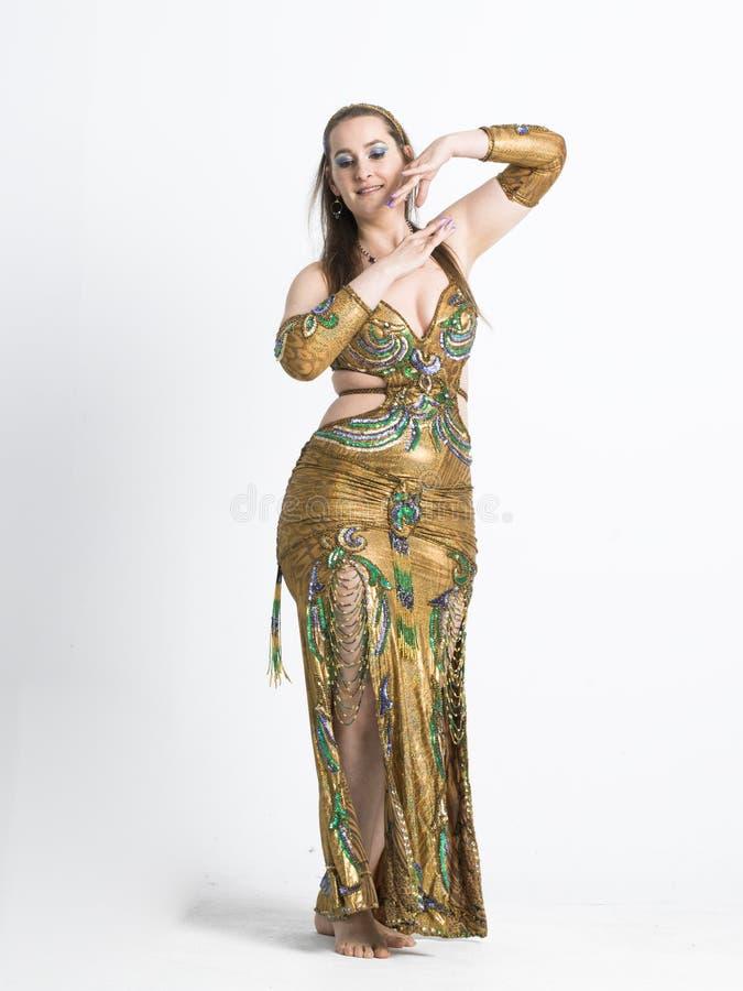 Femme de danseuse du ventre photos stock