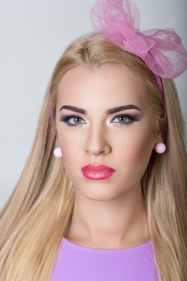 Femme de fille de Barbie image stock