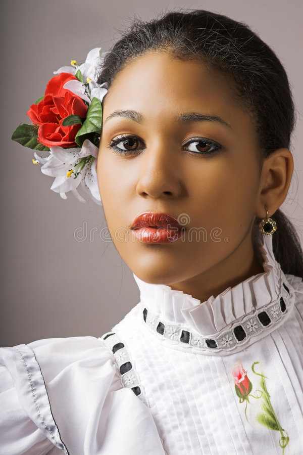 Femme de flamenco photos libres de droits
