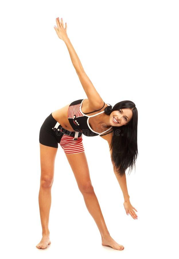 Femme de forme physique images stock