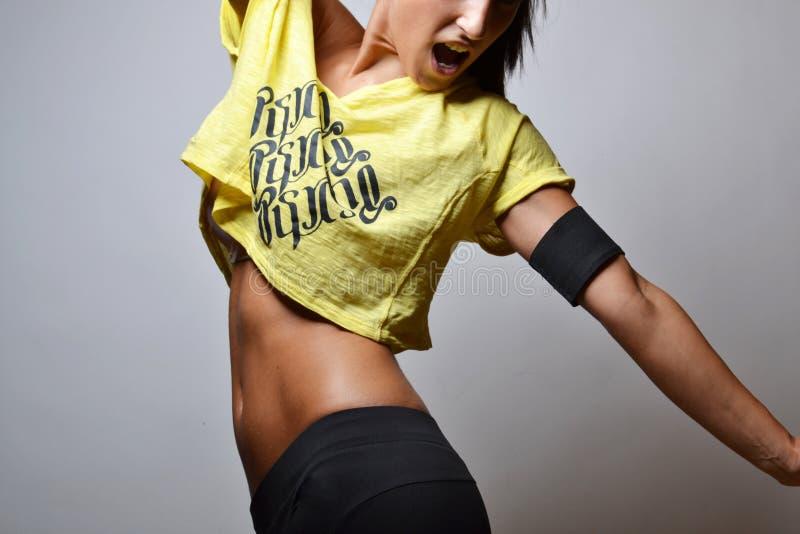 Femme de forme physique images libres de droits