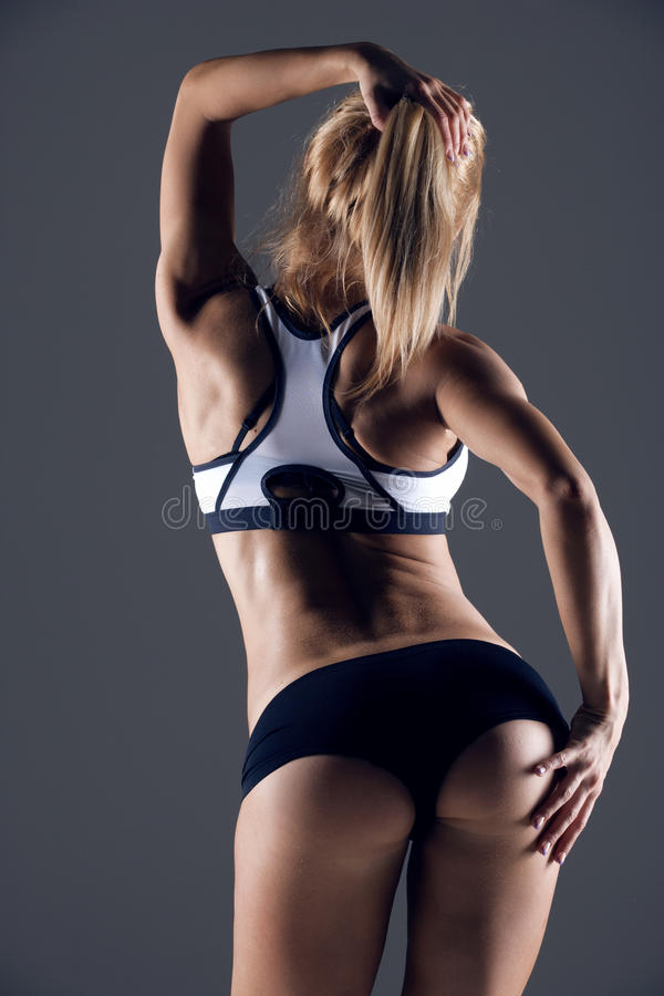 Femme de forme physique photo libre de droits
