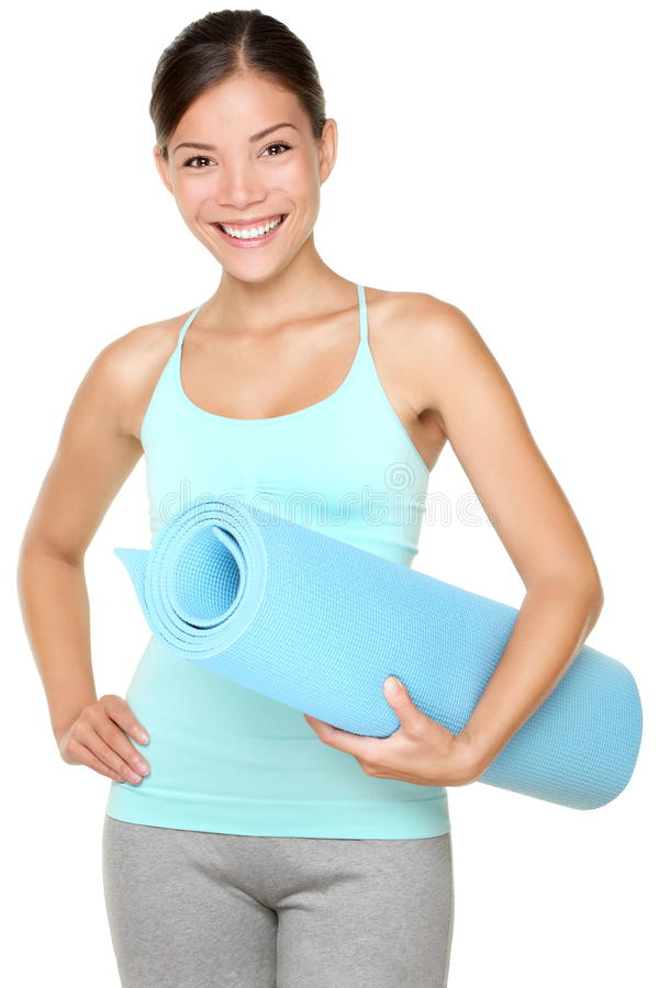 Femme de forme physique d'exercice image stock
