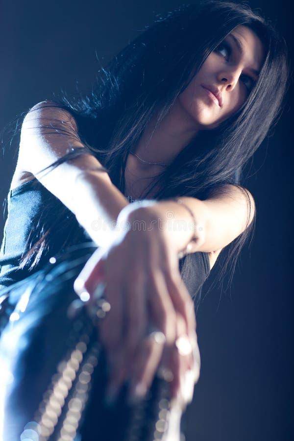 Femme de Goth images libres de droits