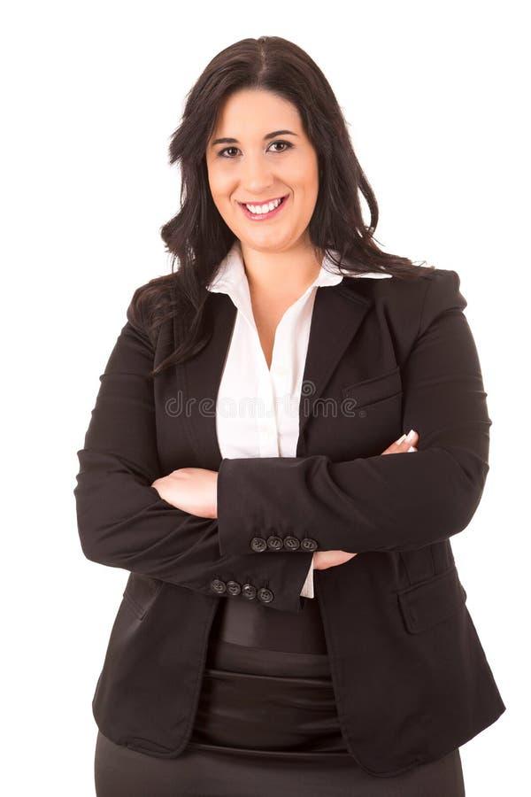 Femme de grande entreprise photographie stock