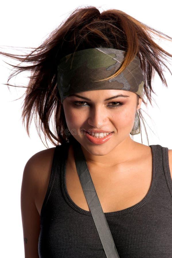 Femme de guerrier photos stock