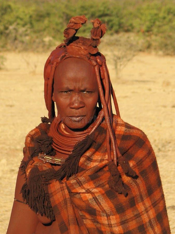 Femme de Himba photographie stock