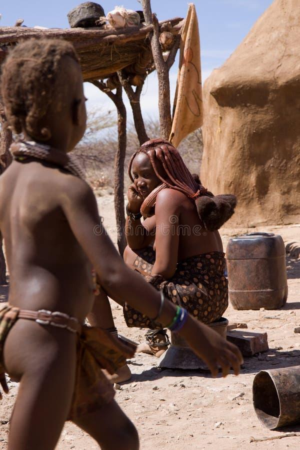 Femme de Himba photos libres de droits