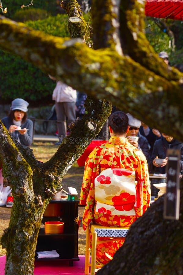 femme de kimono photos libres de droits
