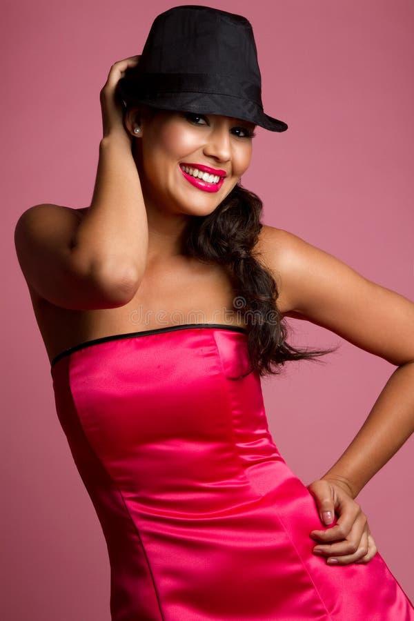 Femme de Latina images libres de droits