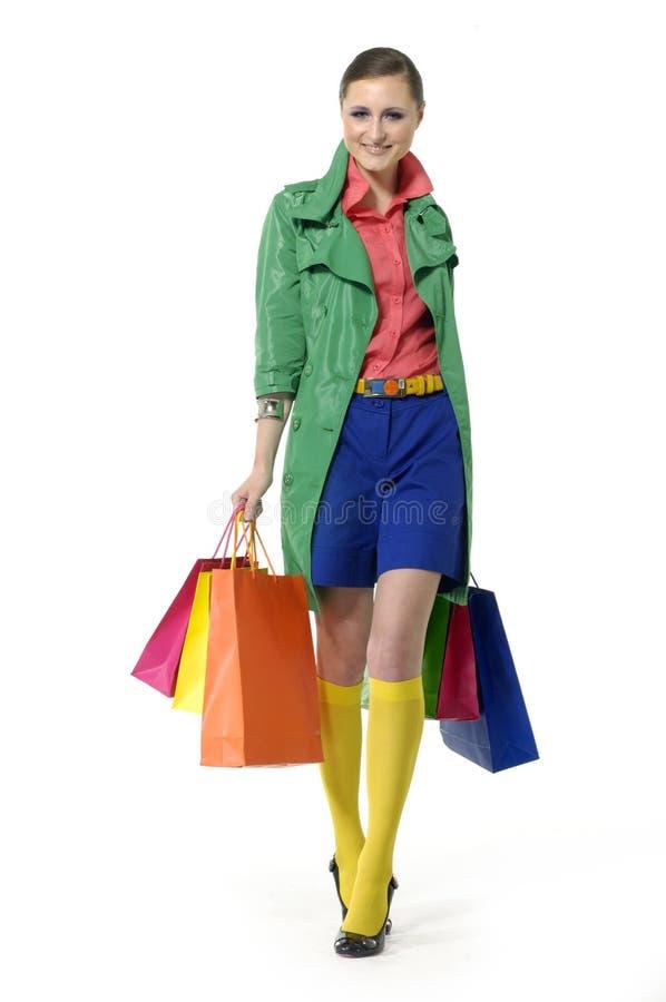 Femme de mode photographie stock