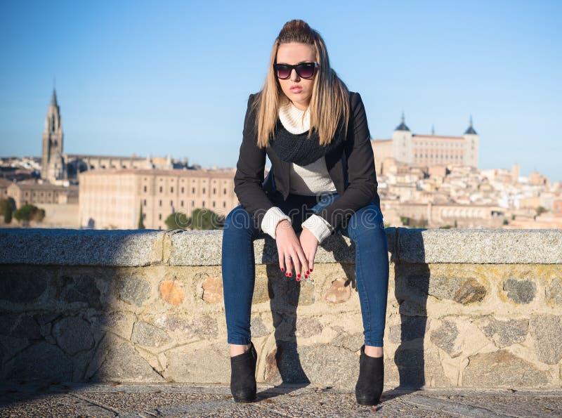 Femme de mode photo libre de droits