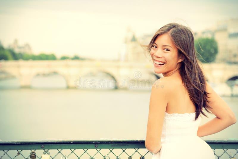 Femme de Paris photos libres de droits