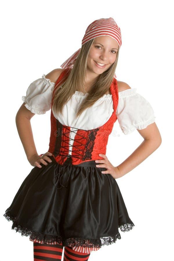Femme de pirate images stock