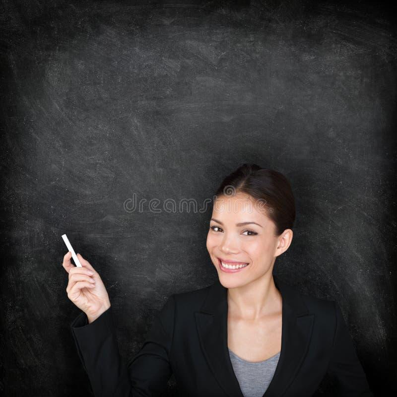 Femme de professeur photographie stock