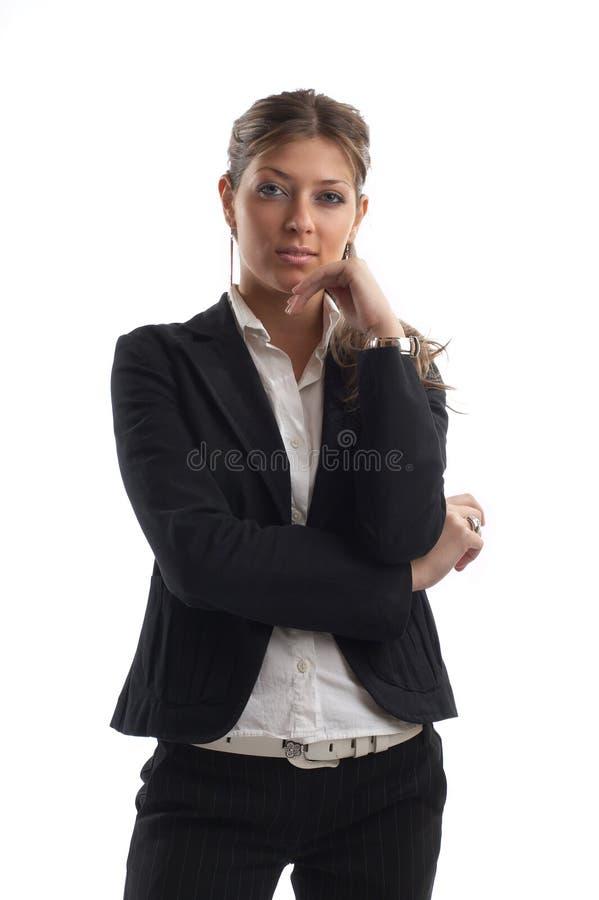 Femme de regard grande d'affaires photos libres de droits