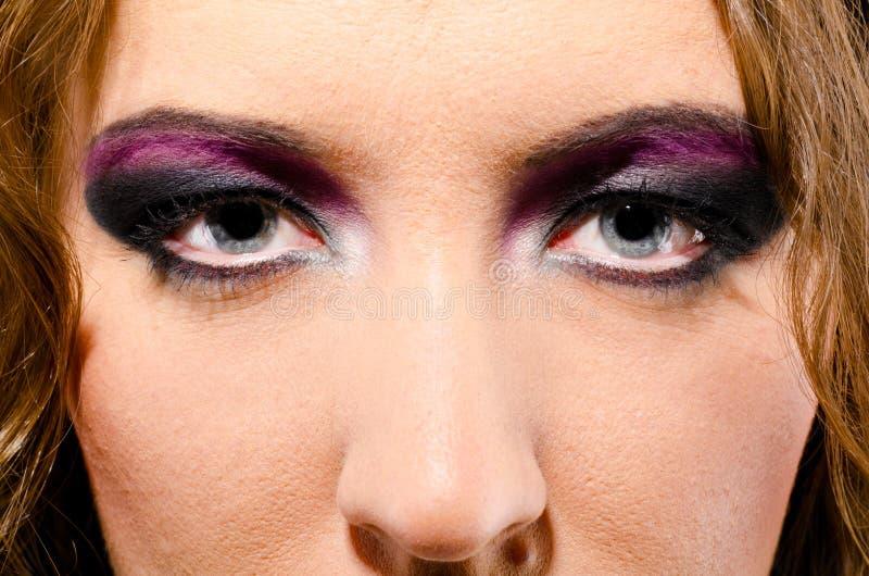 Femme de roche de Glam image libre de droits
