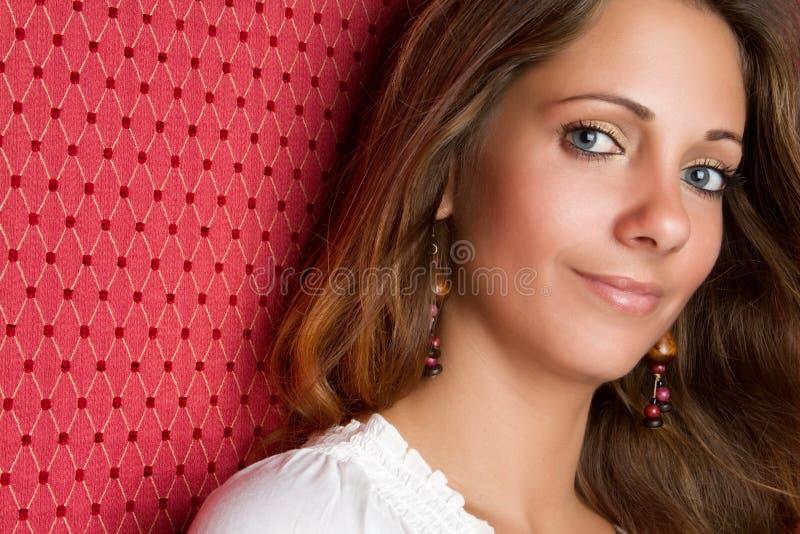 Femme de Smling images stock