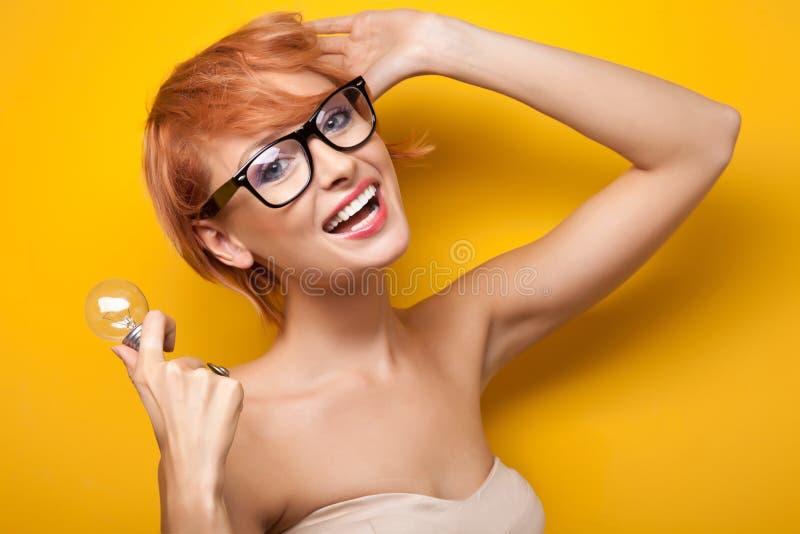 Femme de sourire images stock