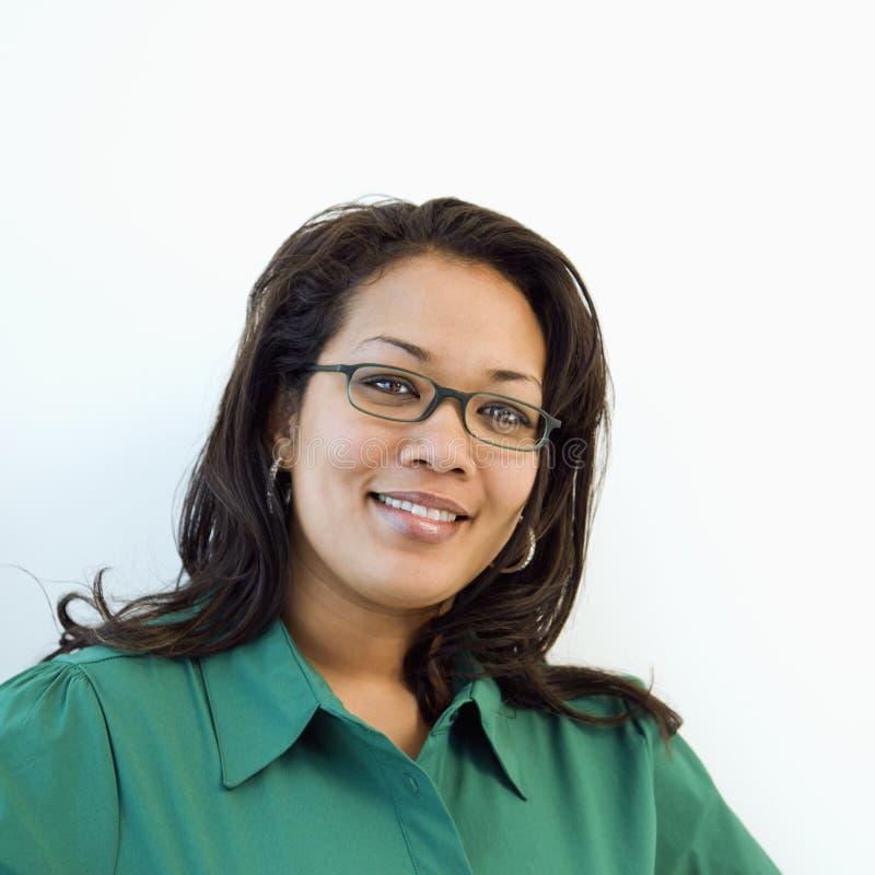 Femme de sourire. photo libre de droits