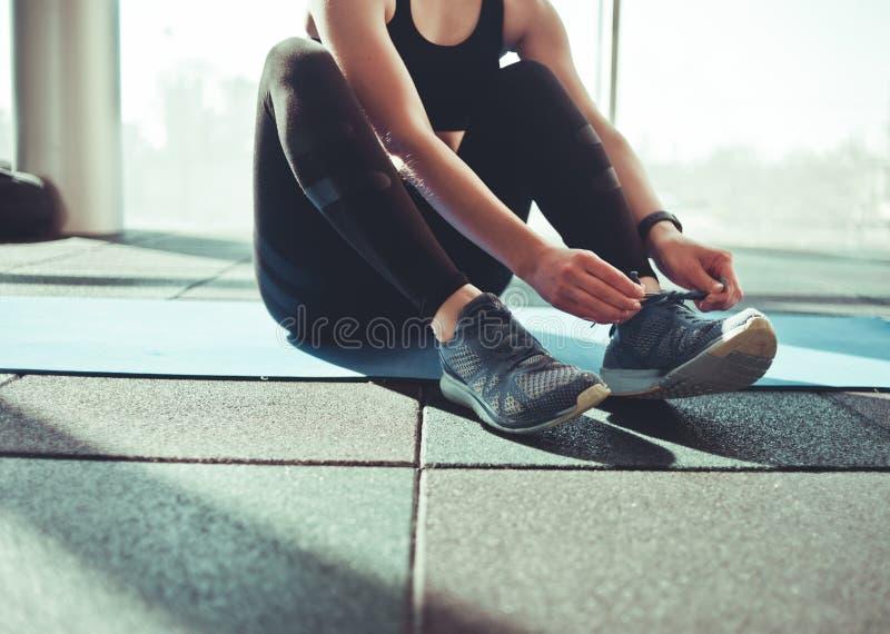 Femme de sport photo stock