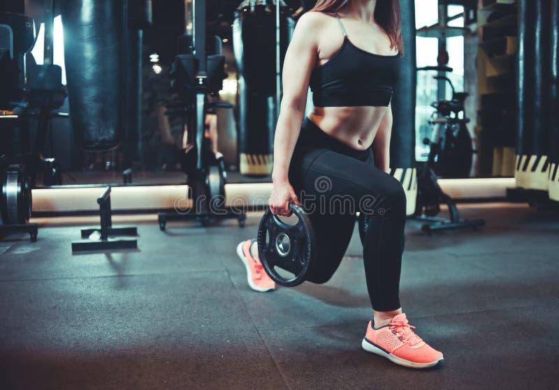 Femme de sport photos stock