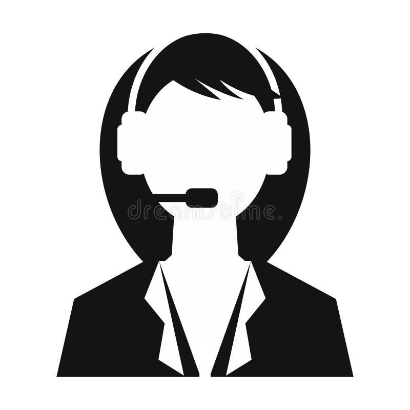 Femme de support technique illustration libre de droits