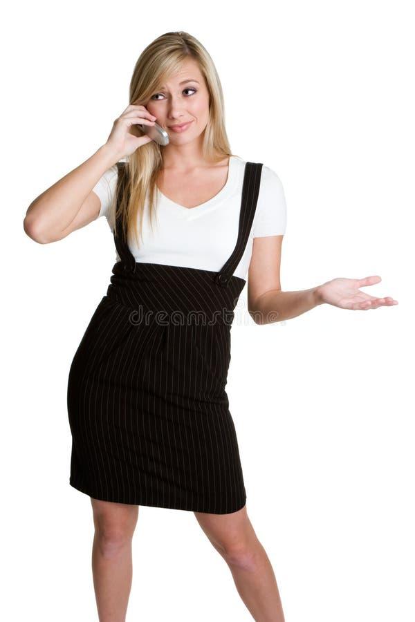 femme de téléphone images stock