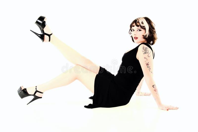 Femme de type de Pinup image stock