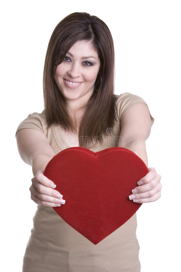 Femme de Valentines images libres de droits