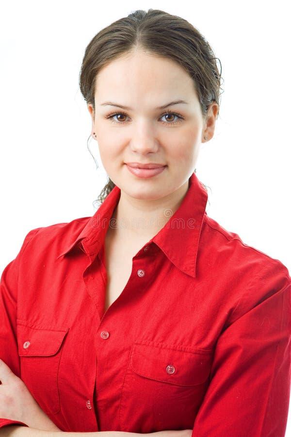 Femme de verticale photo libre de droits