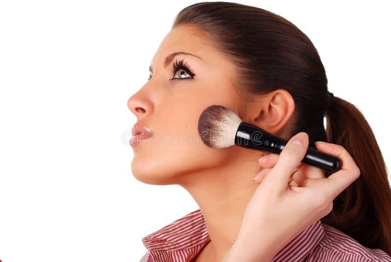 Download Femme de visage image stock. Image du verticale, beauté - 8662271