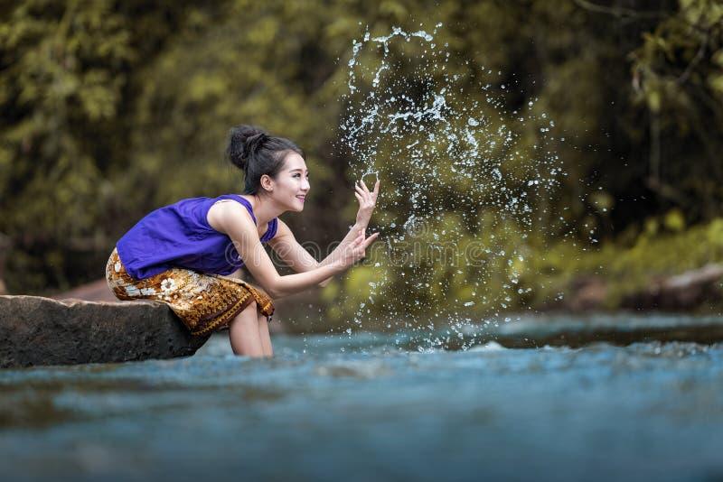 Femme du Laos images stock