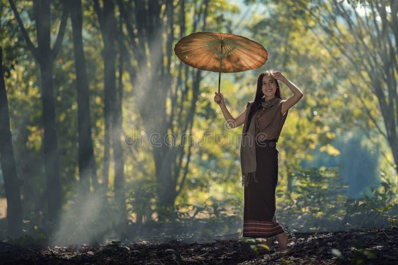 Femme du Laos photo stock