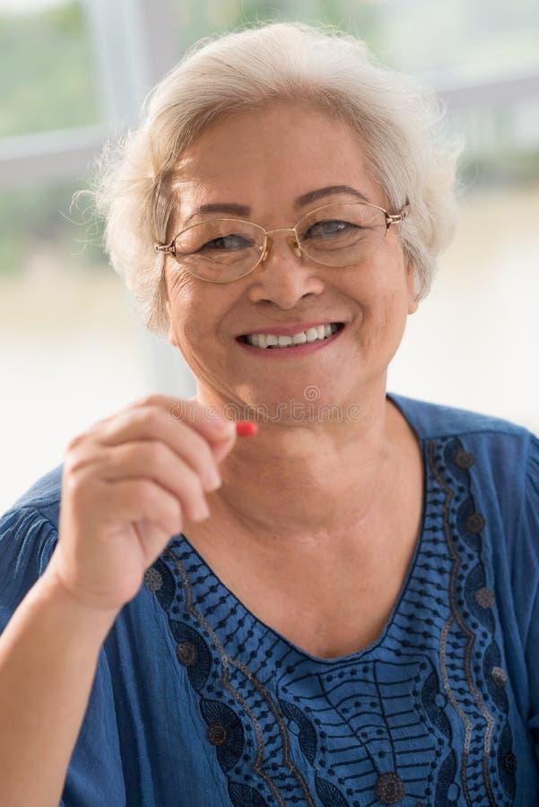 Femme en bonne santé images stock