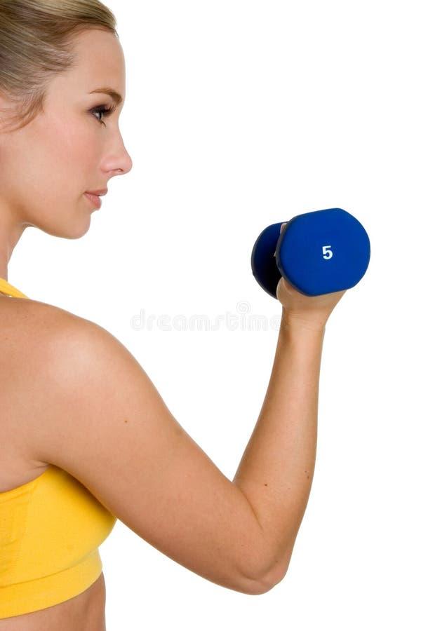 Femme en bonne santé de forme physique photos stock