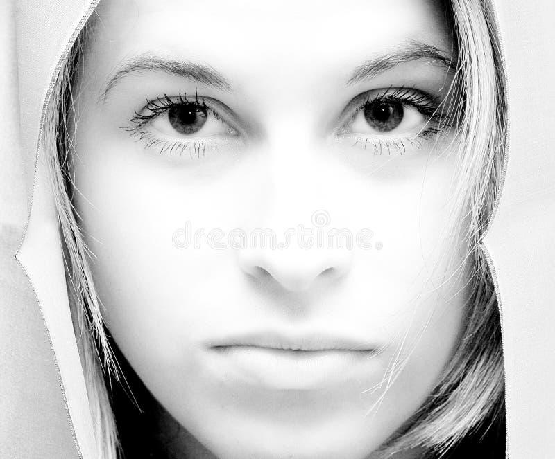 Femme en pierre photographie stock libre de droits