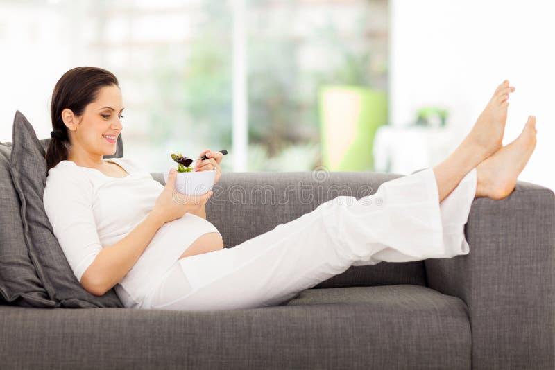 Femme enceinte en bonne santé photo libre de droits