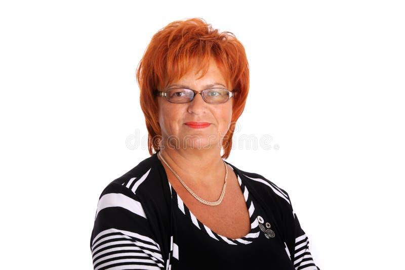 Femme entre deux âges photographie stock libre de droits
