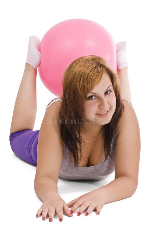 Femme et forme physique photo libre de droits