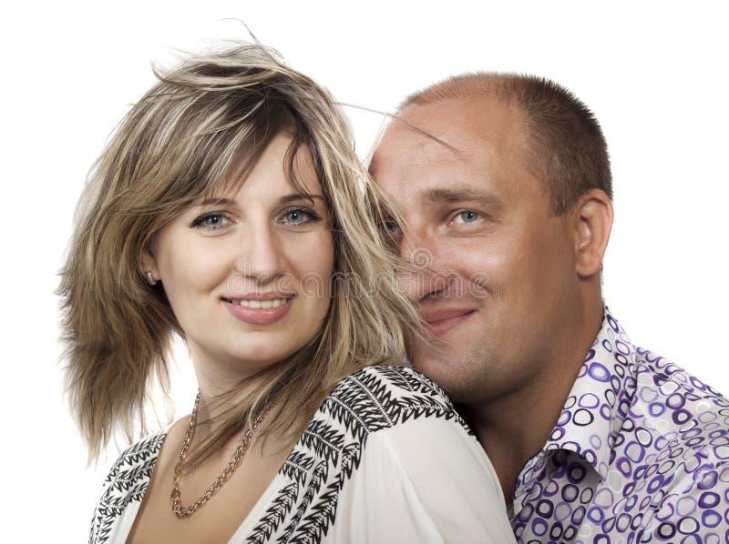 Femme et un homme photos stock
