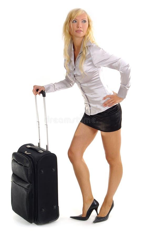 Femme et voyage d'affaires