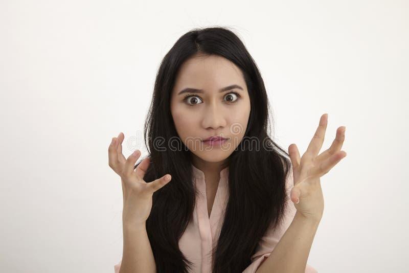 Femme fâché images stock