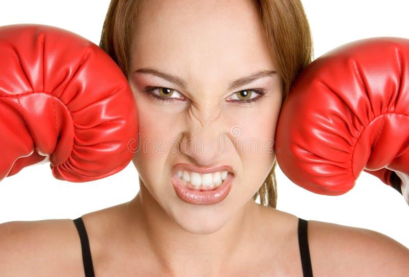 Femme fâché photos libres de droits