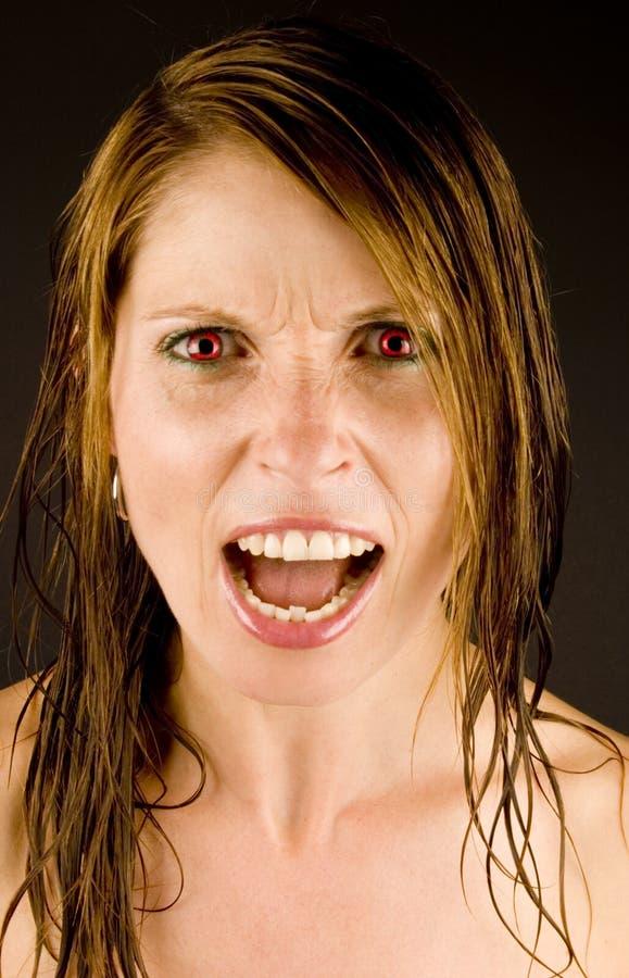 Femme Fâchée Photos Stock