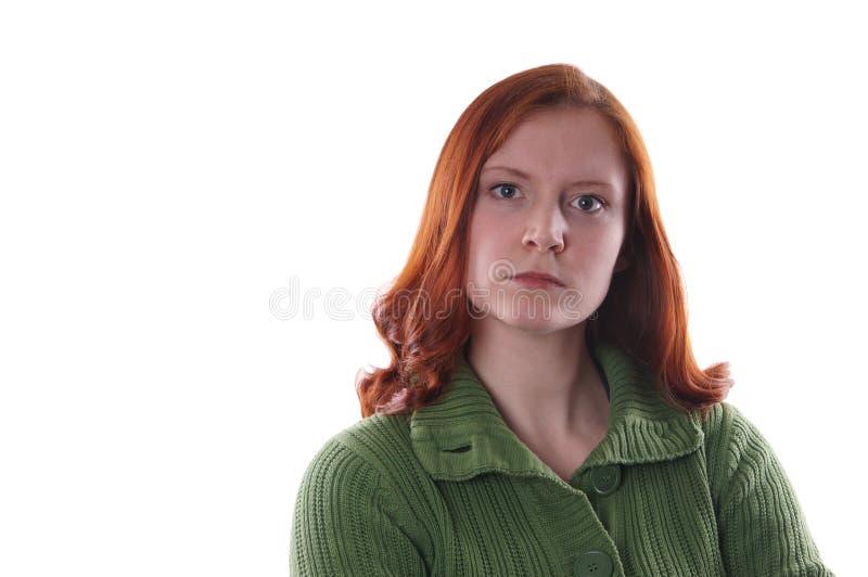 Femme fâchée photos libres de droits