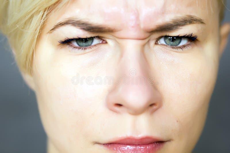Femme fâchée photographie stock